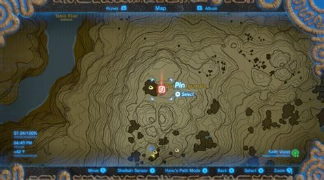 ancient zelda legend ex breath wild dlc wikigameguides treasure location