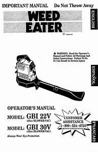 Gbi 22v Manuals