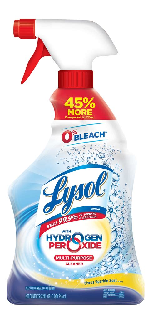 Lysol Bleach Free Hydrogen Peroxide Multi-Purpose Cleaner