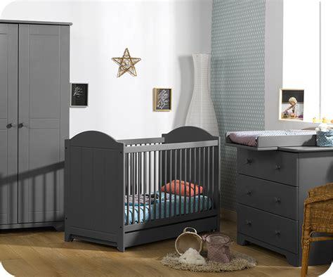 bebe chambre chambre bébé nature gris anthracite achat vente