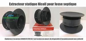 Assainissement Fosse Septique : extracteur statique nicoll fosse ~ Farleysfitness.com Idées de Décoration