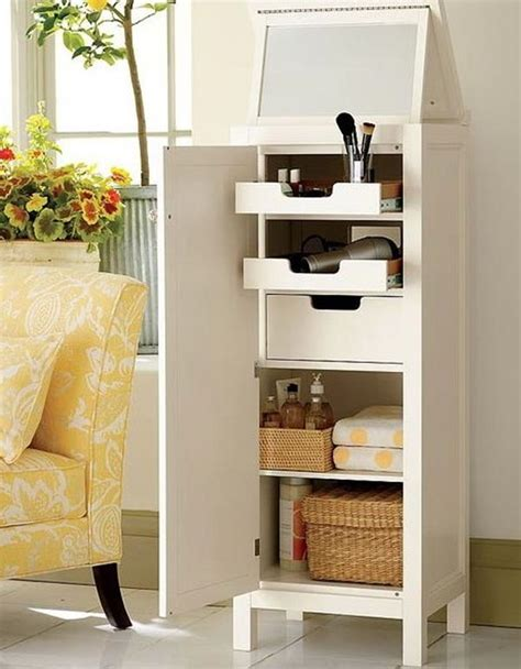 cool bathroom storage ideas 29 cool makeup storage ideas for small spaces