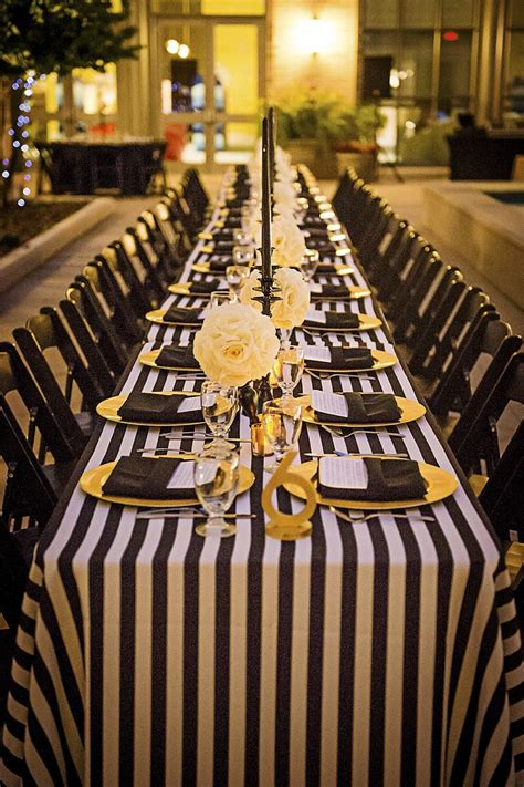 modern elegant white black  gold wedding