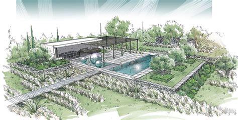 chambre d hotes var avec piscine réalisations architecte paysagiste gentilini