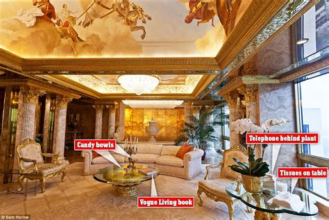 table for 6 chairs donald 39 s 100m york city penthouse in pictures
