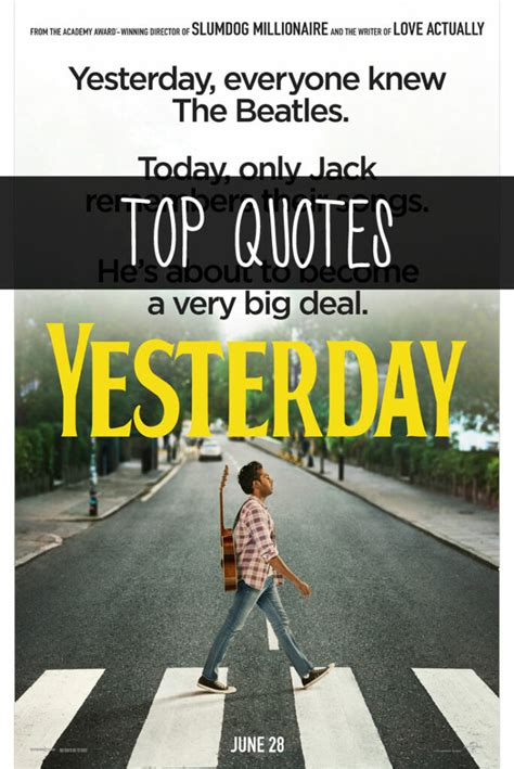 Yesterday Movie Quotes Enzas Bargains