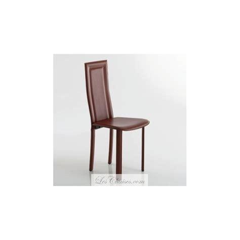 chaise de salle chaise salle a manger en cuir le monde de léa