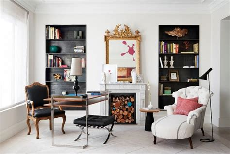 15 Warm And Cozy Home Office Designs With Fireplaces