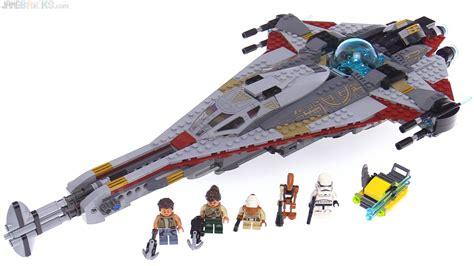 lego star wars  arrowhead set review