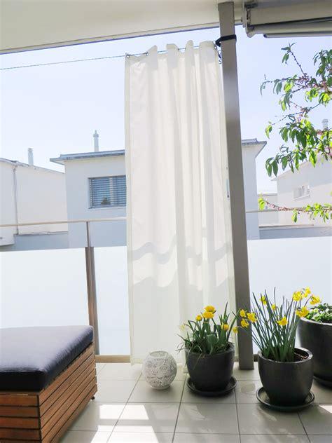 Outdoor Vorhänge Ikea by Outdoor Vorhang Santorini Fertigvorhang Weiss