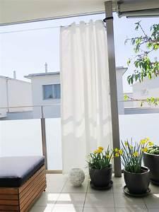 Gesims Für Vorhänge : outdoor vorhang santorini nach mass weiss ~ Michelbontemps.com Haus und Dekorationen
