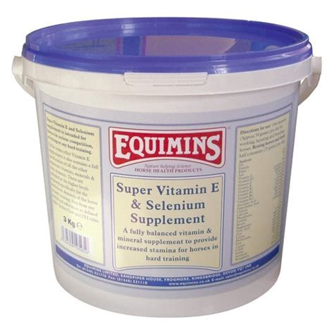 equimins super vitamin  selenium competition supplement