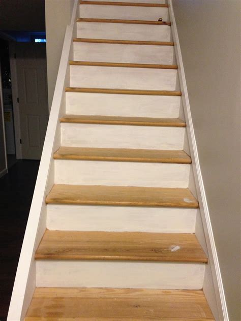 chic meets healthy refinishing basement stairs part
