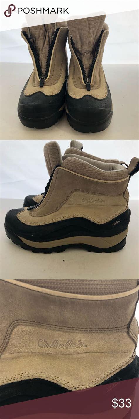 cabelas zip  snow boots mens sz   product