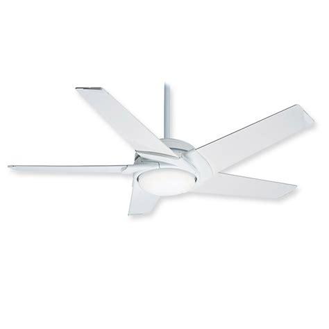 Modern White Ceiling Fans by Casablanca Stealth 59091 Ceiling Fan Glossy White Modern Fan