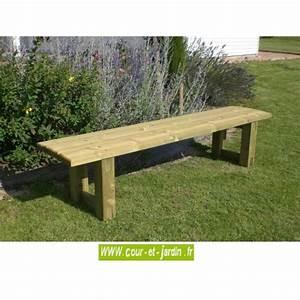 Banc Exterieur Design : banc de jardin bois bancs de jardin en bois design pas cher d 39 ext rieur ~ Teatrodelosmanantiales.com Idées de Décoration
