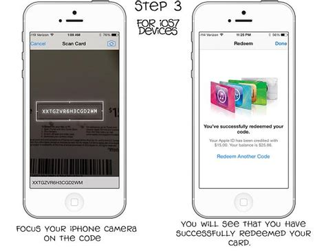 how to redeem itunes gift card on iphone guide how to redeem your itunes gift card iphone