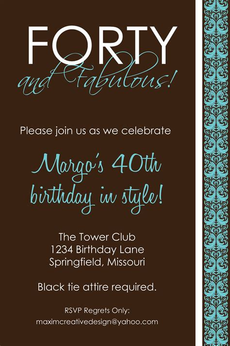 birthday invitation card template for adults birthday invitations birthday invites for adults