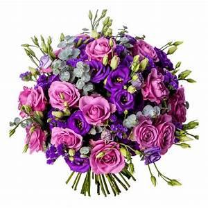 Bouquet De Fleurs : bouquet de lisianthus livraison roses et lisanthus pas chers france fleurs ~ Teatrodelosmanantiales.com Idées de Décoration