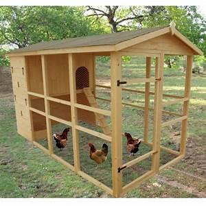 Plan Poulailler 5 Poules : poulailler xxxl 8 12 poules colis 180 x 80 x 90 gamm ~ Premium-room.com Idées de Décoration