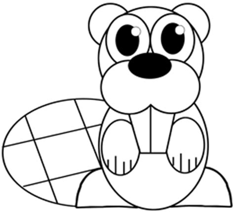 draw  cartoon beaver  easy step  step