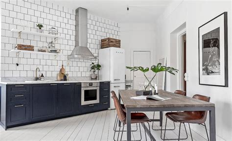 Kitchen Tile Idea - back to basics the importance of contrast in interior design
