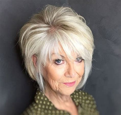 20 Best Bob Haircuts for Older Women Short Haircuts
