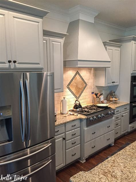 sherwin williams dorian gray cabinets the best kitchen cabinet paint colors bella tucker 215