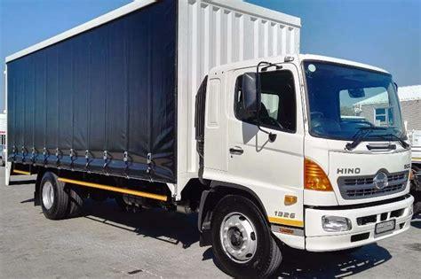 2018 Hino New Hino 500 1326 Fc Curtain Side Truck Trucks