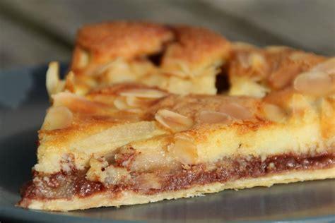 dessert poire chocolat amande tarte poires chocolat amande