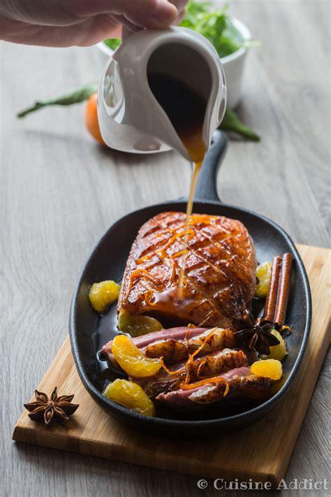 cuisiner magret magret de canard laqué à la clémentine corse aux epices cuisine addict cuisine addict
