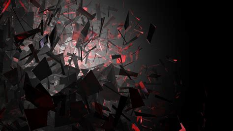 Black White And Red Wallpaper Abstract Hd Wallpaper 124