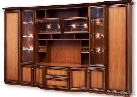 types  wood cabinets  pictures
