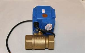 24v Actuator Ball Valve Brass 3  4 U0026 39  U0026 39   Dn20  Electric Shut