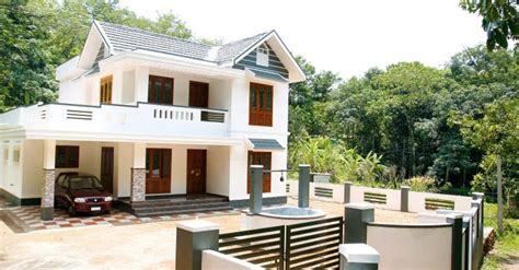 1835 Square Feet 4 Bedroom Modern Sloping Roof Home Design