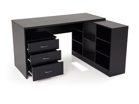 meuble bureau noir meuble de bureau noir meuble de rangement bureau