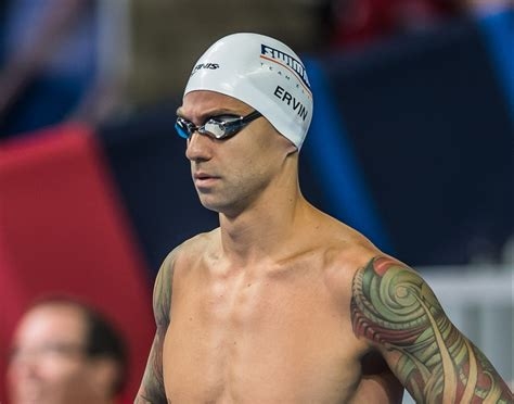 anthony ervin sprints  front   freestyle  semifinals