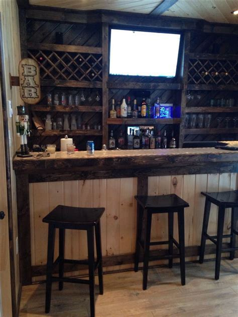 Man Cave Shed Bar   Man Cave Ideas in 2019   Bars for home