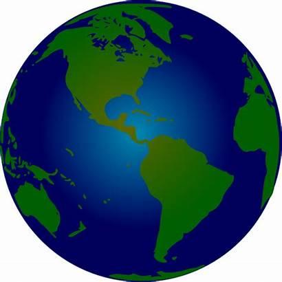 Globe Clip Clipart Animated Earth Hemisphere Southern