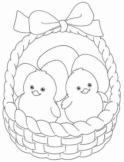 Coloring Pages Chicken Easter Spaniel Springer Egg