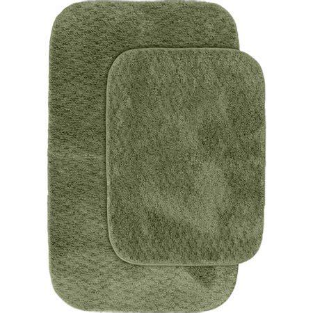 cabernet nylon  piece washable bathroom rug set walmartcom