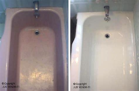 Bathtub Glaze by Reglazing Care Reglaze Your Tub Save How