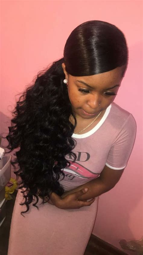 Ponytail Hairstyles For Black Hair by Black Ponytail Styles 26 Ponytail Hairstyles For