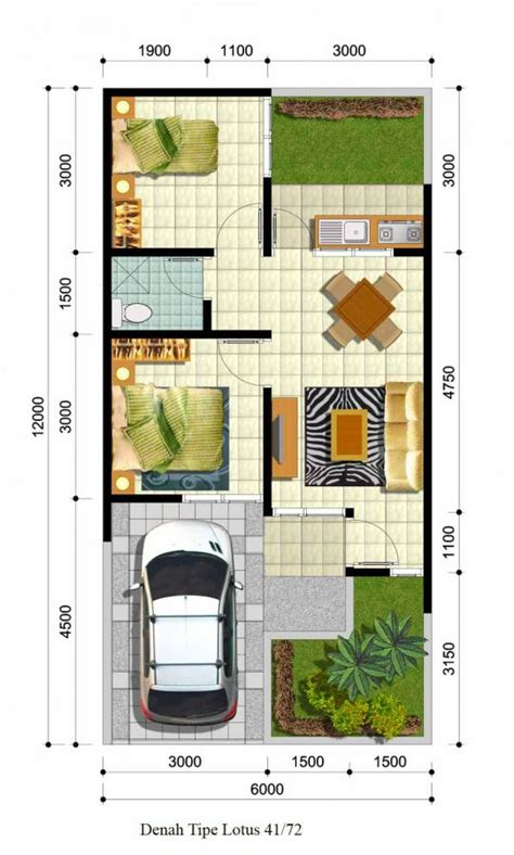 desain bangunan rumah sakit house q
