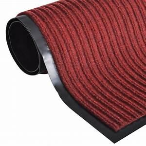 Tapis En Solde : acheter tapis d 39 entr e en pvc rouge 90 x 120 cm pas cher ~ Teatrodelosmanantiales.com Idées de Décoration