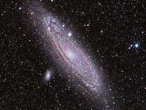 M31 Spiral Galaxy In Andromeda  850x640