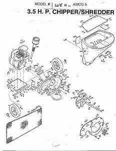 Mtd Chipper  Shredder Parts