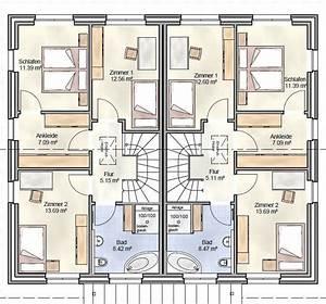Grundriss Doppelhaushälfte Seitlicher Eingang : grundriss doppelhaush lfte 120 qm ~ Markanthonyermac.com Haus und Dekorationen