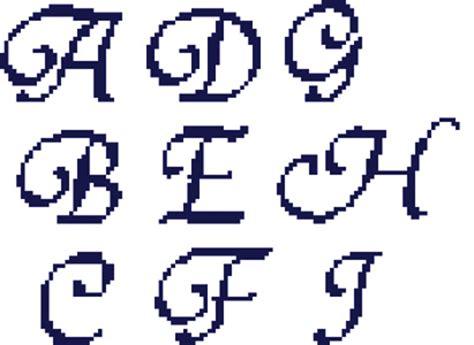 monograms  cross stitch