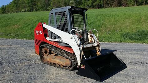 takeuchi tl skid steer loader youtube